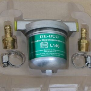 L140B 1-4 inch Brass NPT and hoseclips
